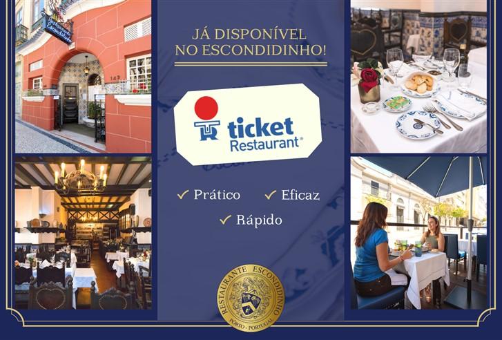 Cartão ticket restaurante escondidinho porto pratos tipicos portugueses luxo requintado elites impact transition
