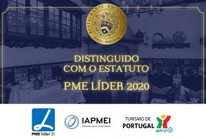 Estatudo pme lider excelencia 2020 restaurante escondidinho porto pratos tipicos portugueses luxo requintado elites impact transition