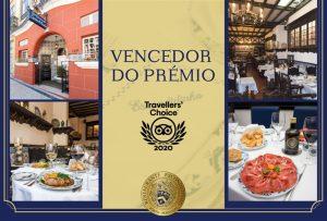 Tripadvisor travellers choice 2020 restaurante escondidinho porto pratos tipicos portugueses luxo requintado elites impact transition