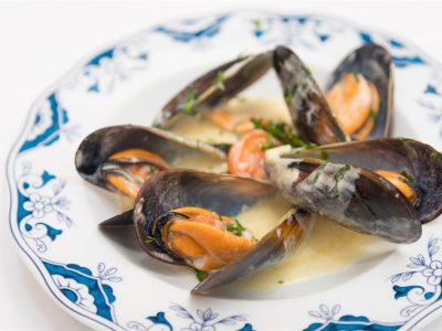 Mexilhão au Mascarpone restaurante escondidinho porto pratos tipicos portugueses luxo requintado elites impact transition