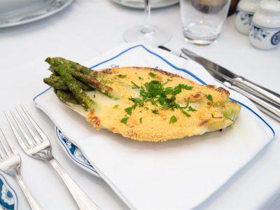 Espargos Gratinados restaurante escondidinho porto pratos tipicos portugueses luxo requintado elites impact transition